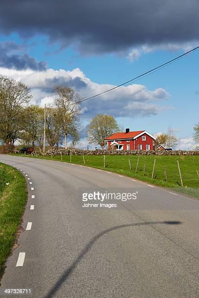 Country road, Vastergotland, Sweden