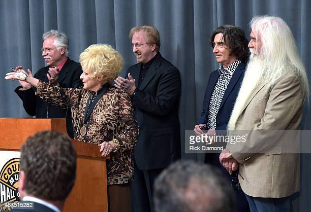 Country Rock Roll Hall of Fame Member Brenda Lee hosts and welcomes Joe Bonsall Duane Allen Richard Sterban and William Lee Golden The Oak Ridge Boys...