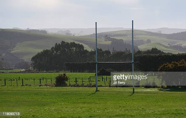 Country rugby field