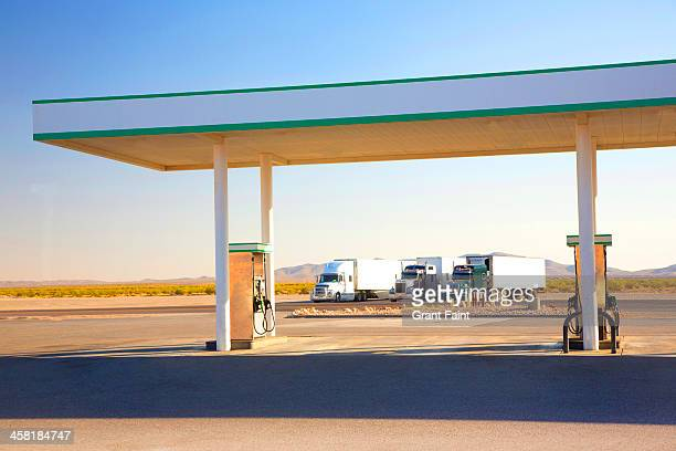 Country side gas station