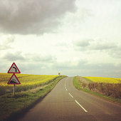 Country Side Road in Oxfordshire, England
