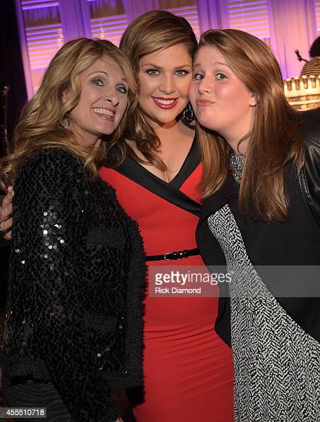 Country Singer and Mother of the Honoree Linda Davis Honoree for 'Artist of the Year' Singer/Songwriter member of Lady Antebellum Hillary Scott and...