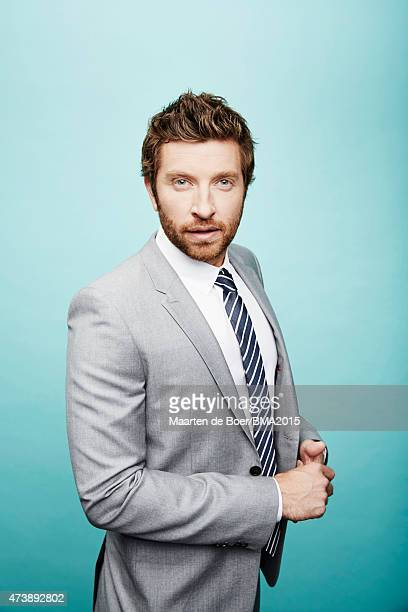 Country singer Brett Eldredge poses for a portrait at the 2015 Billboard Music Awards on May 17 2015 in Las Vegas Nevada