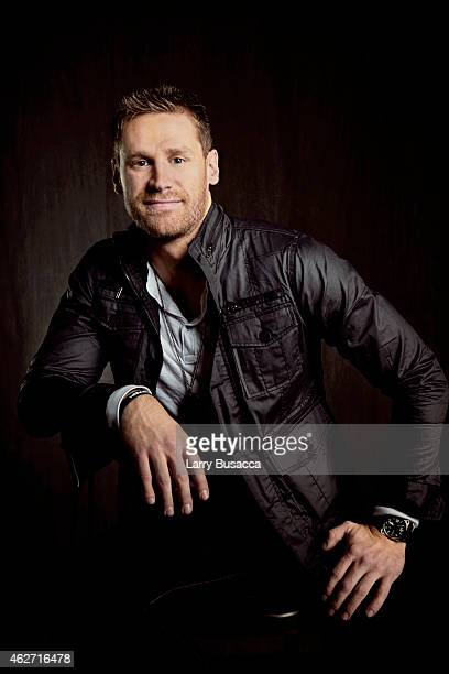 Country singer Chase Rice poses for a portrait on December 15 2014 at Music City Center in Nashville Tennessee