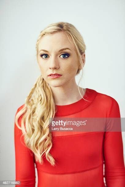 Country singer Emily Kinney poses for a portrait on December 15 2014 at Music City Center in Nashville Tennessee