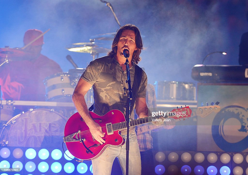 Country Singer Jake Owen performs During Orange Bowl Halftime Show 2013 at Sunlife Stadium on January 1, 2013 in Miami, Florida.