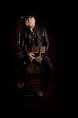 Country singer Jason Aldean poses for a portrait on December 15 2014 at Music City Center in Nashville Tennessee