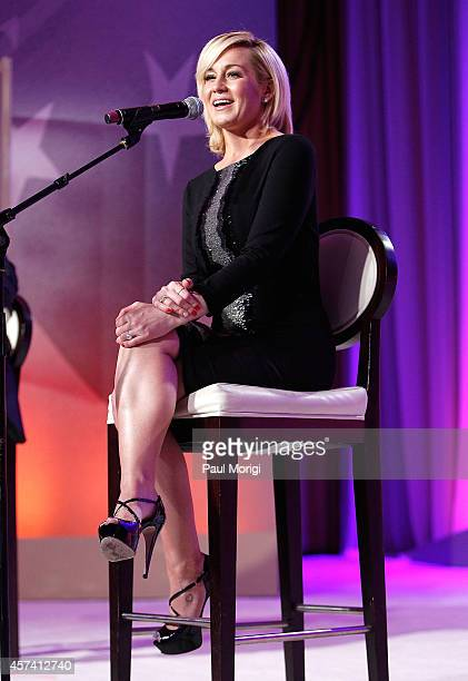 Country singer Kellie Pickler performs at 2014 USO Gala Honoring Those Who Serve at Washington Hilton on October 17 2014 in Washington DC