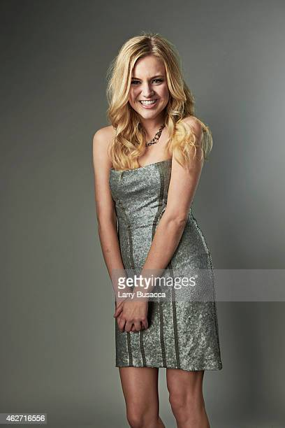 Country singer Kelsea Ballerini poses for a portrait on December 15 2014 at Music City Center in Nashville Tennessee