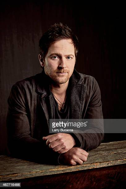Country singer Kip Moore poses for a portrait on December 15 2014 at Music City Center in Nashville Tennessee