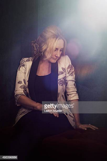 Country singer Lee Ann Womack is photographed for Texas Monthly Magazine on August 13 2014 in Austin Texas
