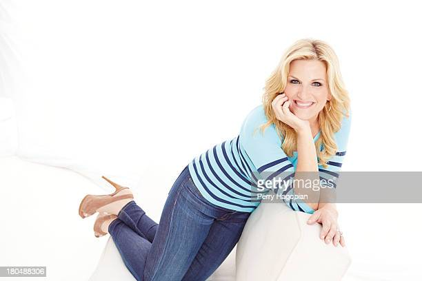 Country singer Trisha Yearwood is photographed for Good Housekeeping Magazine on May 3 2013 in New York City PUBLISHED IMAGE