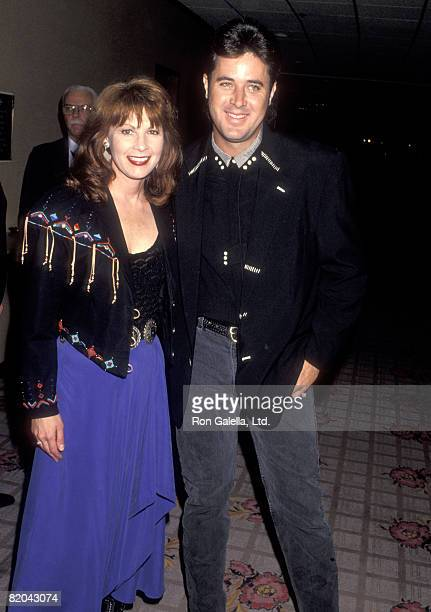 Country Singers Patty Loveless and Vince Gill attend the Fifth Annual Gene Autry Western Heritage Museum Gala on October 28 1993 at Century Plaza...