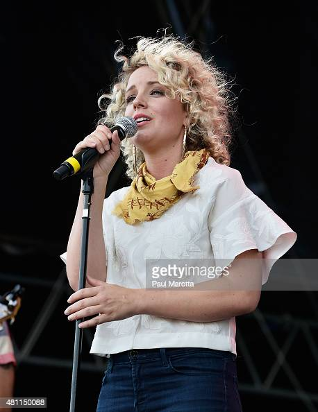 Country singersongwriter Cam performs on day 4 of the Outside the Box Festival Boston at Boston Common on July 17 2015 in Boston Massachusetts