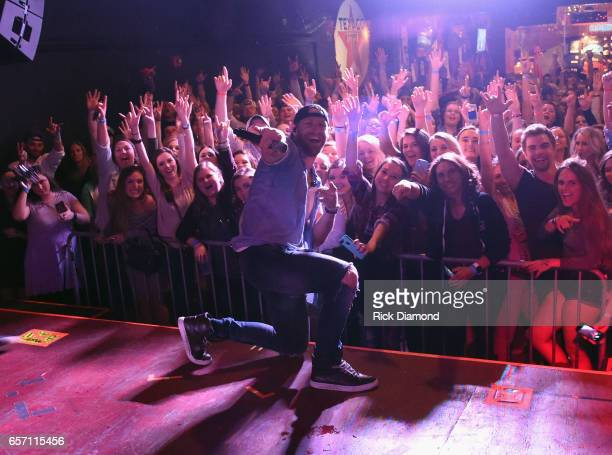 Country Singer/Songwriter Chase Rice revisits early roots with limited run of 'Pub Shows' Rice performs at Brewhouse Music Grill on March 23 2017 in...