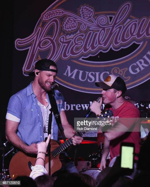 Country Singer/Songwriter Chase Rice revisits early roots with limited run of 'Pub Shows' Travis Denning joins Rice onstage at Brewhouse Music Grill...