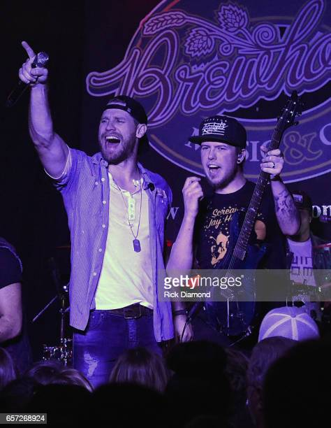 Country Singer/Songwriter Chase Rice revisits early roots with limited run of 'Pub Shows' Rice and Guitartist Chris Loocke perform at Brewhouse Music...