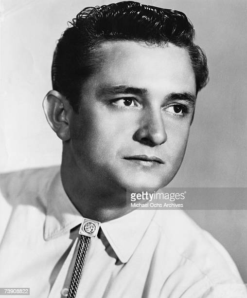 Country singer/songwriter Johnny Cash poses for a portrait in 1955 in Memphis Tennessee