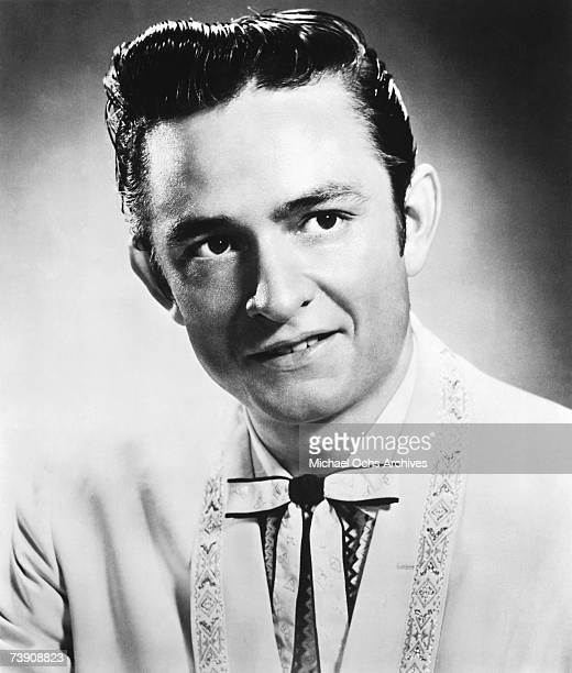 Country singer/songwriter Johnny Cash poses for a portrait in 1956 in Memphis Tennessee