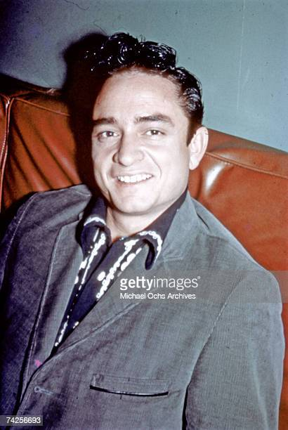 Country singer/songwriter Johnny Cash poses for a portrait in 1959
