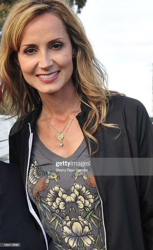 Country Star Chely Wright poses backstage at the Golf and Guitars charity event on May 18, 2010 at the Alister MacKenzie Golf Course at Haggin Oaks in Sacramento, California.