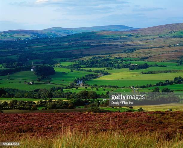 Countryside in Gortin Glen