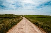 A beautiful countryside path