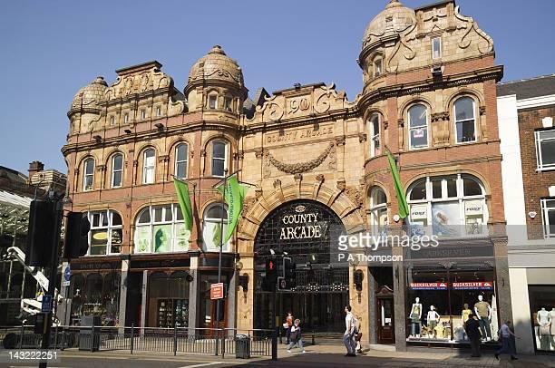 County Shopping Arcade, Leeds, Yorkshire, England