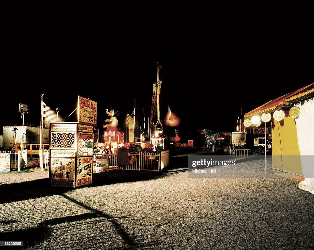 County show at night time : Stock Photo