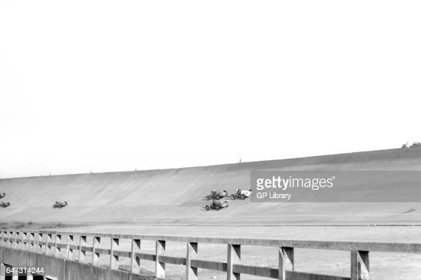 Coupe du salon monopoles on the banking at Autodrome de LinasMontlh_ry 1959