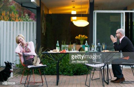 Couple after party : Foto de stock