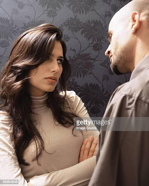 Couple se disputer