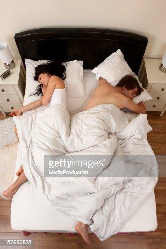 Couple asleep