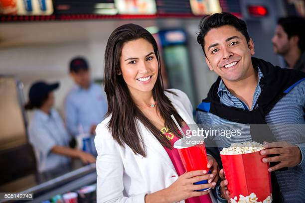 Couple at the cinema