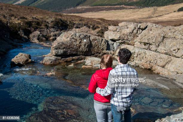 Couple at the fairy pools