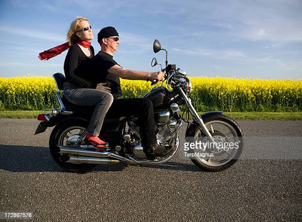 Couple at their bike