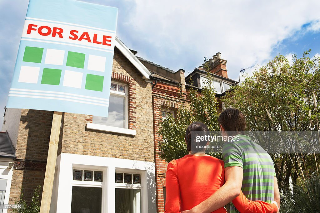 Couple Buying Home Together : Stock Photo