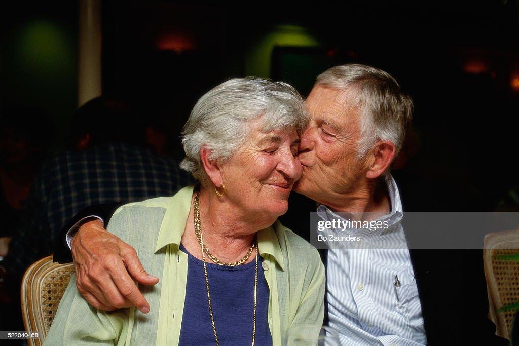 Couple Celebrating 50th Wedding Anniversary