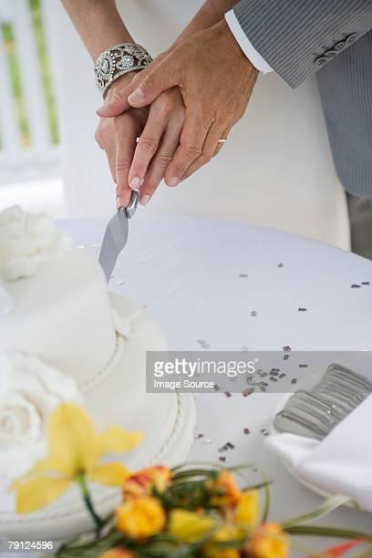 Par Corte de pastel de bodas