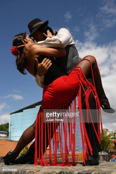 A couple dance to tango music Tango was born in the suburbs of Buenos Aires on February 11 2008 in Buenos Aires Argentina