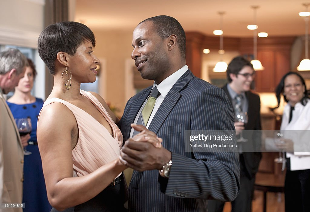 Couple Dancing at a Party : Stock Photo
