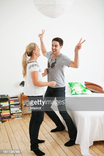 1. Couple Dancing In Bedroom Stock Photo   Getty Images
