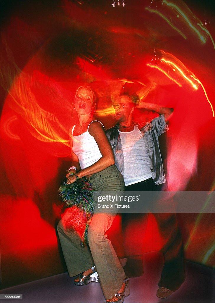 Couple dancing : Stock Photo
