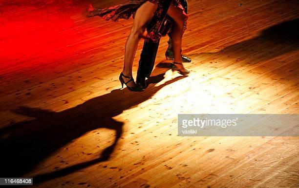 Casal Dançar tango