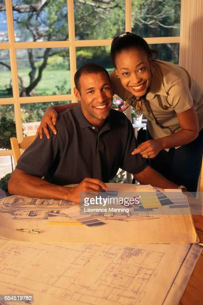 Couple Designing Their New Home