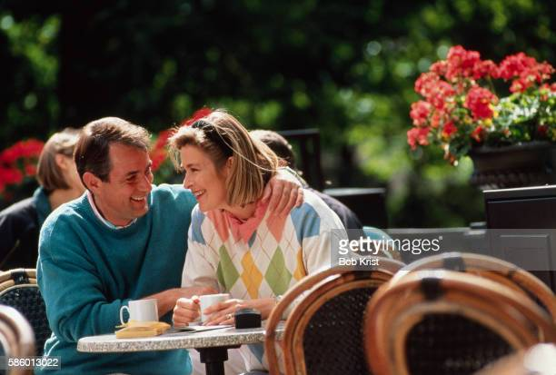 Couple Dining Alfresco