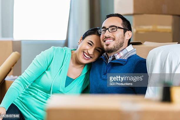 Couple dream about future in their new home