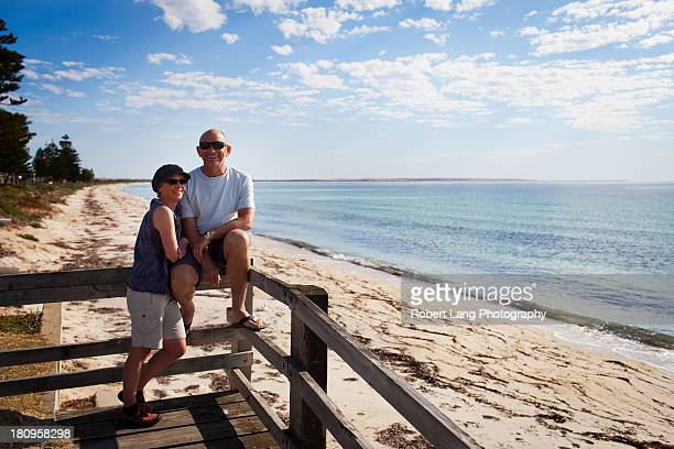 Couple enjoying the beach, Tumby Bay - Australia