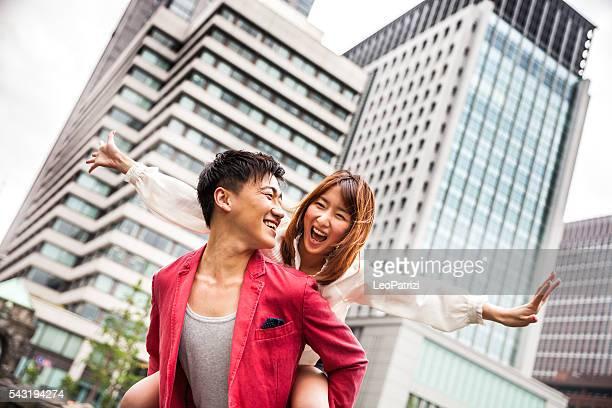 カップルでご一緒の時間をお楽しみください。東京(日本