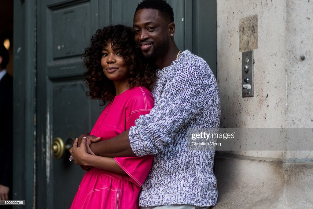Stylish Couple Gabrielle Union &  Dwyane Wade Take Paris